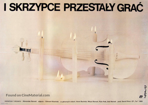 And the Violins Stopped Playing - Polish Movie Poster