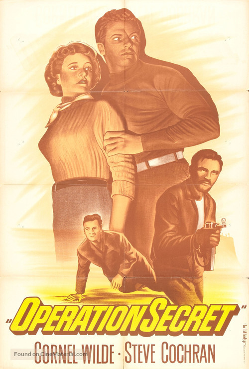 Operation Secret - French Movie Poster