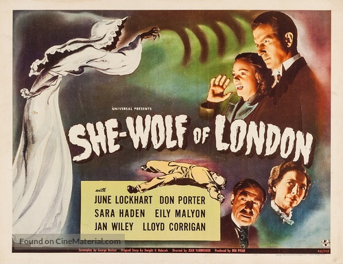 She-Wolf of London - Movie Poster