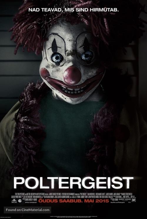 Poltergeist - Estonian Movie Poster