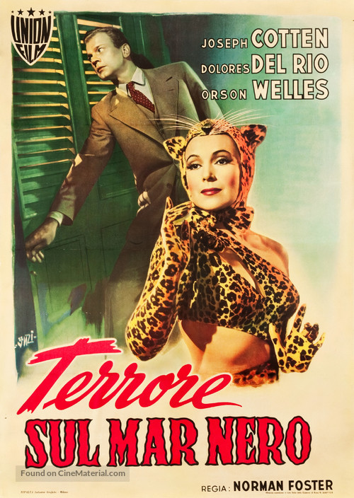 Journey Into Fear - Italian Movie Poster