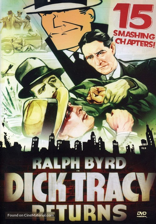 Dick Tracy Returns - DVD movie cover