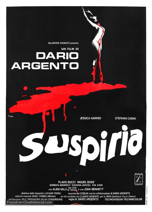Suspiria - Italian Movie Poster
