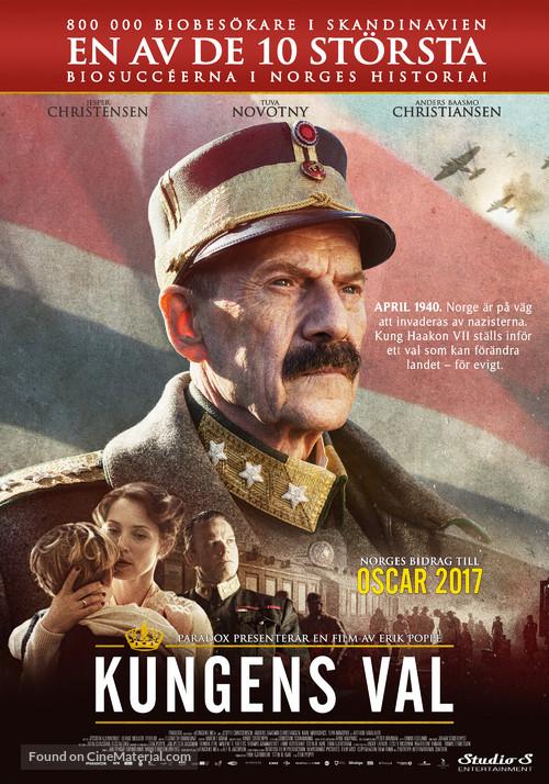 Kongens Nei - Swedish Movie Poster