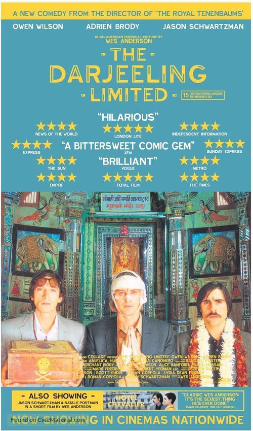 The Darjeeling Limited - British Movie Poster