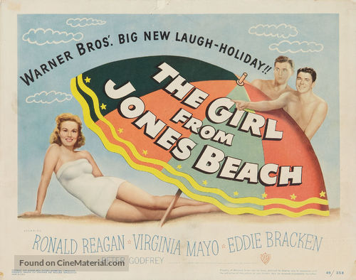 The Girl from Jones Beach - Movie Poster