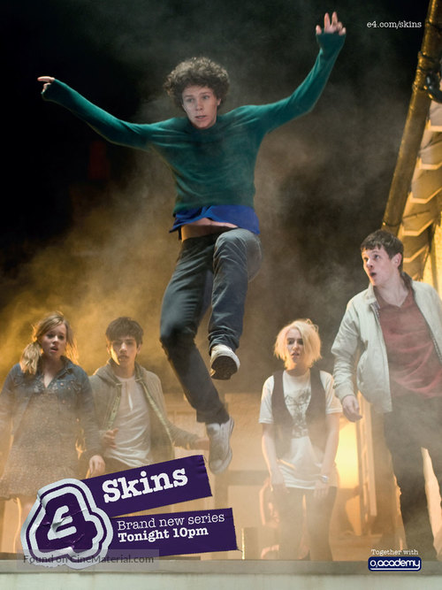 """Skins"" - British Movie Poster"