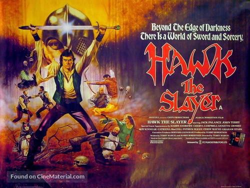 Hawk the Slayer - British Movie Poster
