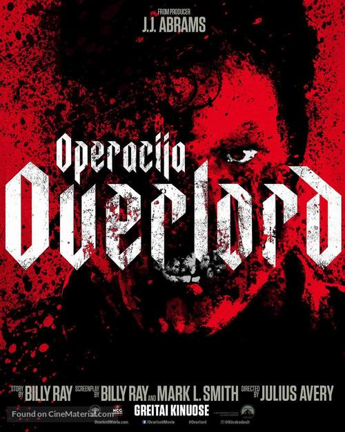 Overlord - Lithuanian Movie Poster
