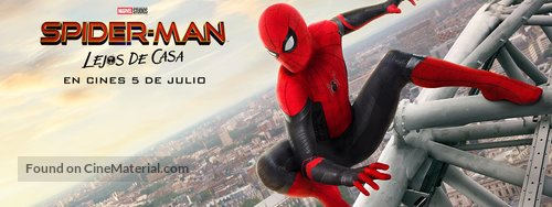 Spider-Man: Far From Home - Spanish Movie Poster
