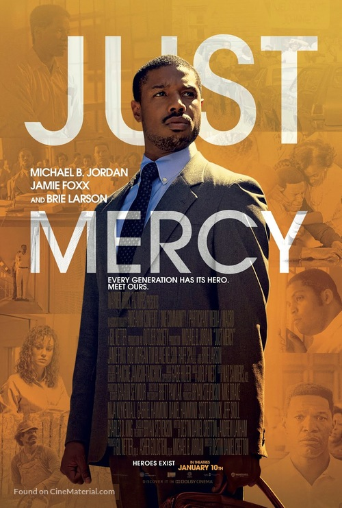 Just Mercy - Canadian Movie Poster