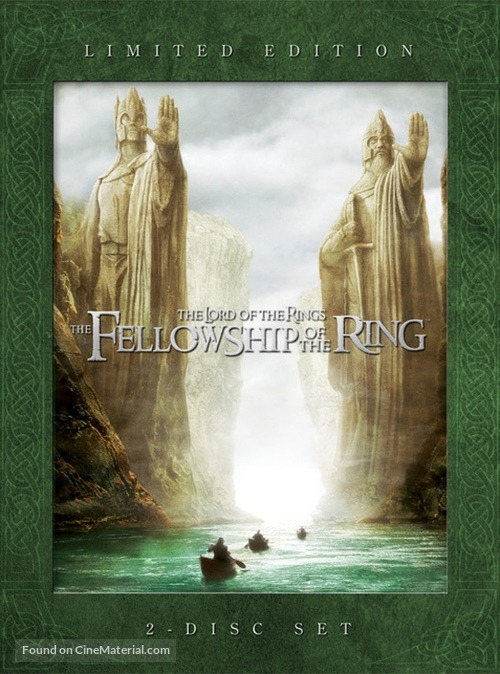 The Lord of the Rings: The Fellowship of the Ring - Movie Cover