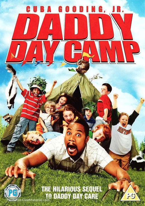 Daddy Day Camp - British DVD movie cover