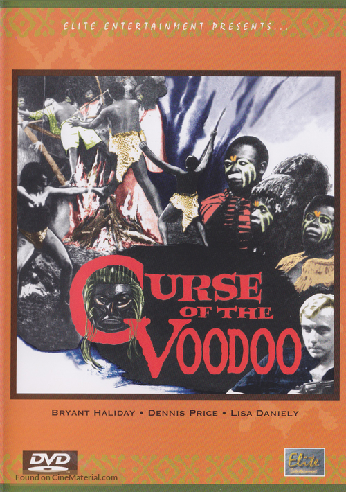 Curse of the Voodoo - DVD movie cover