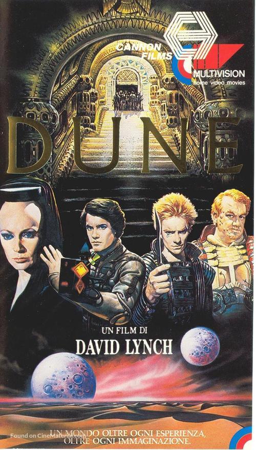 Dune - Italian VHS movie cover