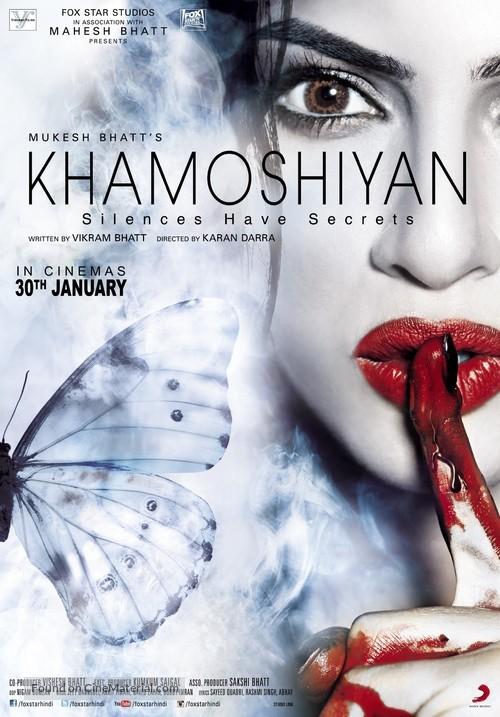 Khamoshiyan - Indian Movie Poster