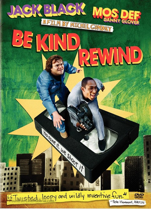 Be Kind Rewind - Movie Cover