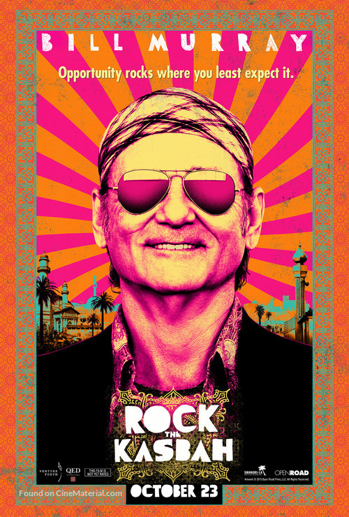 Rock the Kasbah - Movie Poster