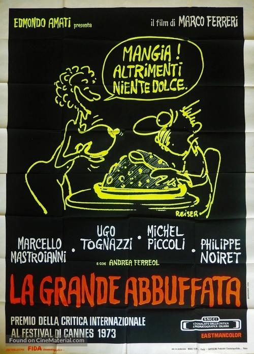 La grande bouffe - Italian Movie Poster