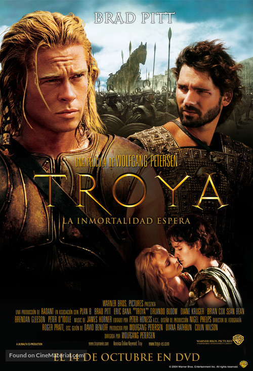 troy argentinian video release poster