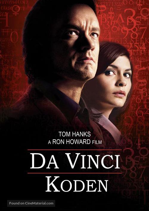 The Da Vinci Code - Swedish Movie Poster