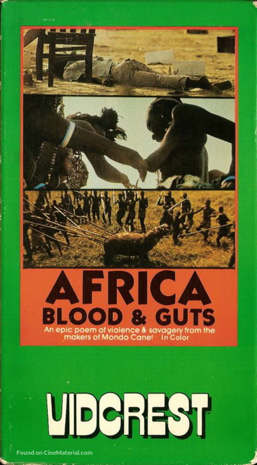 Africa addio - Movie Cover