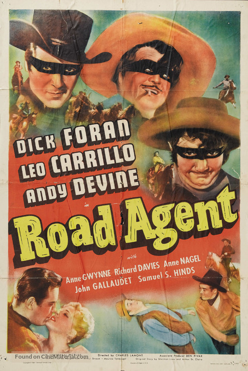 Road Agent - Movie Poster