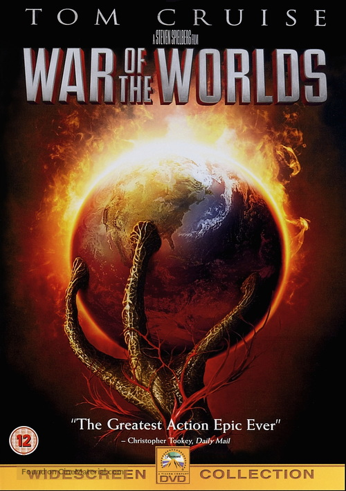 War of the Worlds - British Movie Cover
