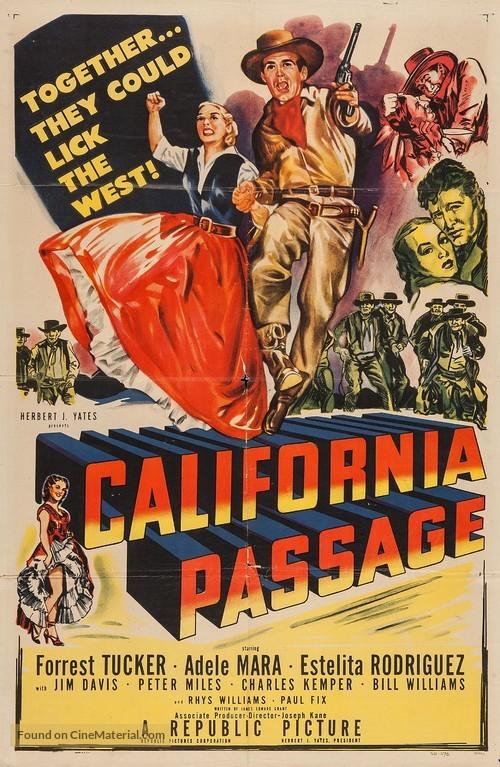 California Passage - Movie Poster
