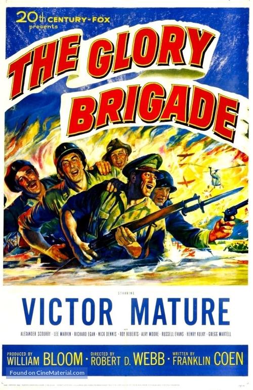 The Glory Brigade - Movie Poster