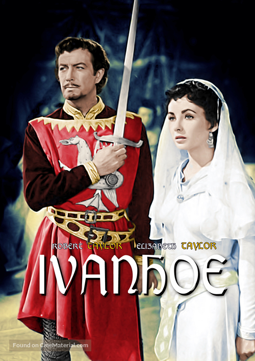 Image result for ivanhoe 1952 poster