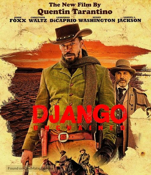 Django Unchained - Blu-Ray movie cover