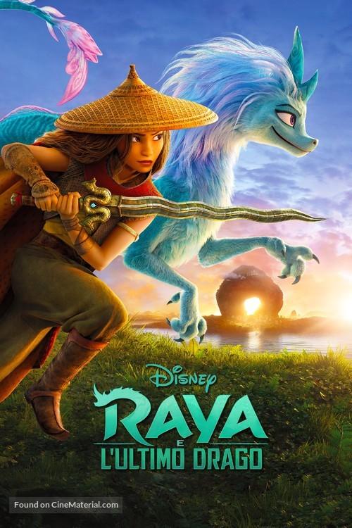 Raya and the Last Dragon - Italian Video on demand movie cover