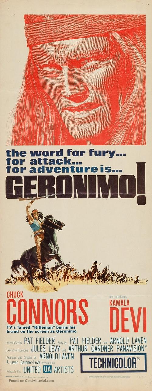 Geronimo - Movie Poster