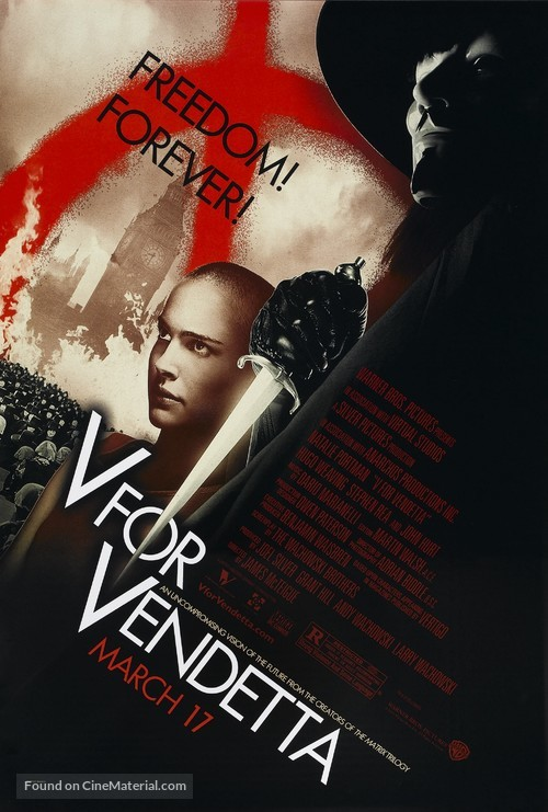 V for Vendetta - Movie Poster