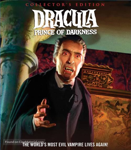 Dracula: Prince of Darkness - Blu-Ray movie cover