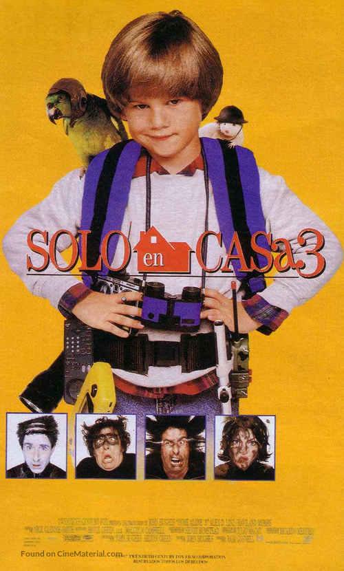 Home Alone 3 1997 Spanish Movie Poster