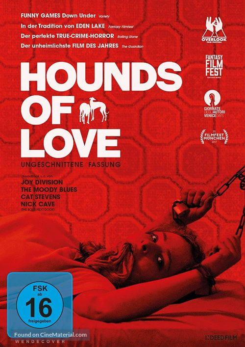 Hounds of Love - German Movie Cover