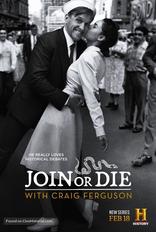 """""""Join or Die with Craig Ferguson"""" - Movie Poster"""