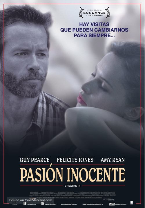 Breathe In - Argentinian Movie Poster