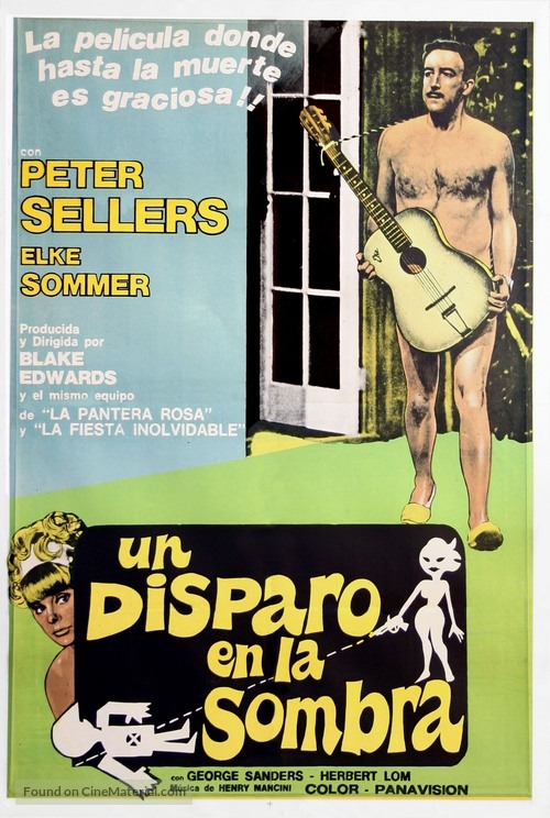 A Shot in the Dark - Argentinian Movie Poster