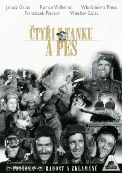 """""""Czterej pancerni i pies"""" - Czech DVD movie cover"""