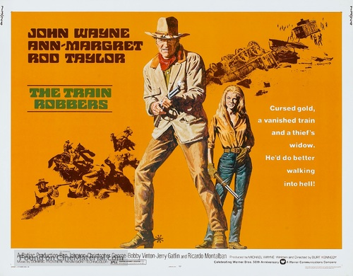 The Train Robbers - Movie Poster
