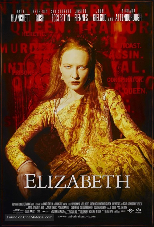 Elizabeth - Movie Poster