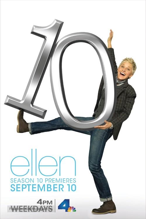 """""""Ellen: The Ellen DeGeneres Show"""" - Movie Poster"""
