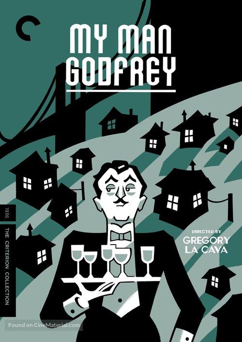 My Man Godfrey - DVD movie cover