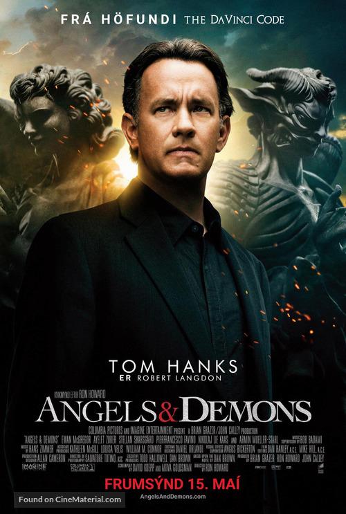 Angels & Demons - Icelandic Movie Poster
