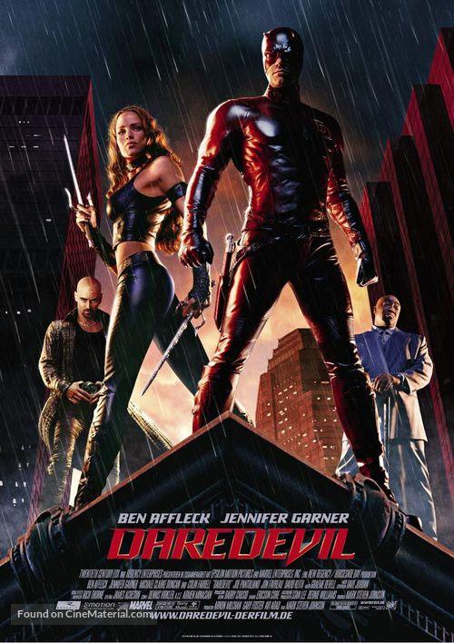 Daredevil - German Movie Poster