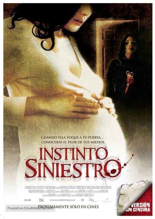 À l'intèrieur - Mexican Movie Poster