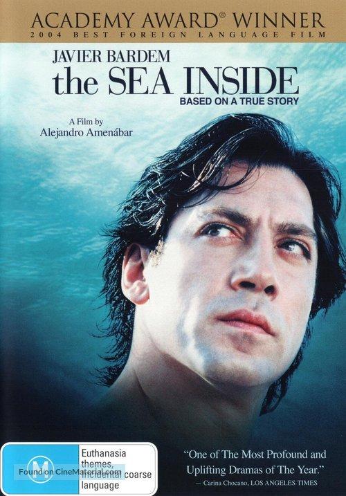 Mar adentro - Australian DVD movie cover
